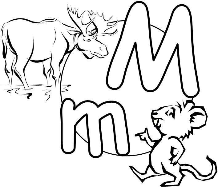 Free Worksheets » Letter Mm Worksheets - Free Printable Worksheets ...